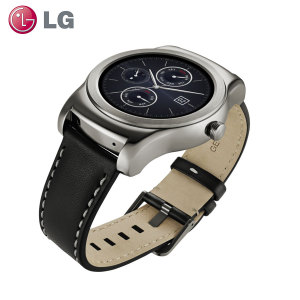 LG Watch Urbane for Android and iOS Smartphones - Silver