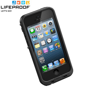 LifeProof Indestructible Case for iPhone 5 - Black