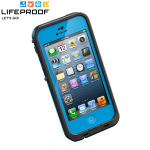 LifeProof Indestructible Case for iPhone 5 - Cyan