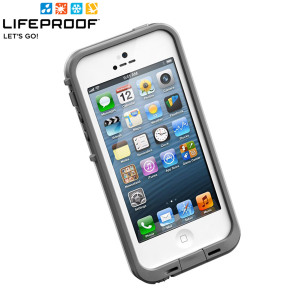 LifeProof Indestructible Case for iPhone 5 - White