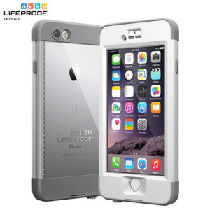 LifeProof Nuud iPhone 6 Plus Case - White / Grey