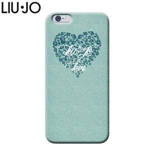 Liu-Jo iPhone 6S / 6 Shell Case - Green Glitter Heart