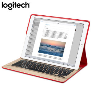Logitech Create iPad Pro Backlit Keyboard Case - Red