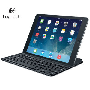 Logitech Ultrathin Bluetooth Keyboard iPad Air Cover - Black