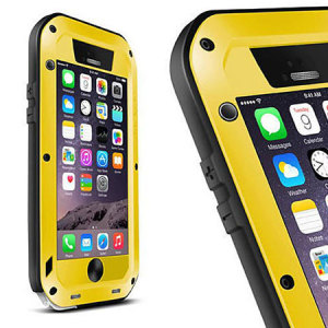 Love Mei Powerful iPhone 6S / 6 Protective Case - Yellow
