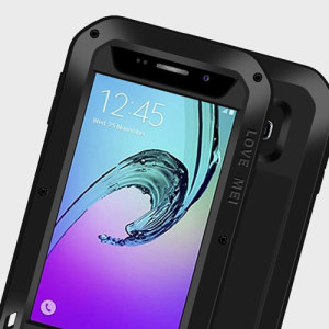 Love Mei Powerful Samsung Galaxy A3 2016 Protective Case - Black