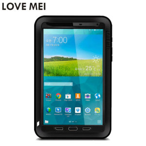 Love Mei Powerful Samsung Galaxy Tab S 8.4 Protective Case - Black