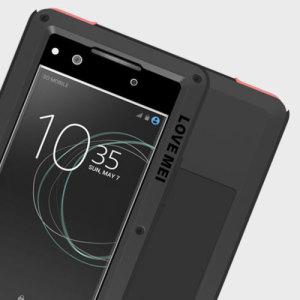 Love Mei Powerful Sony Xperia XA1 Protective Case - Black