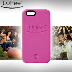 LuMee iPhone 6S / 6 Selfie Light Case - Hot Pink
