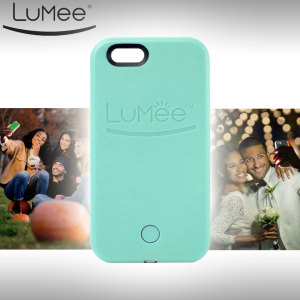LuMee iPhone 6S / 6 Selfie Light Case - Mint Green