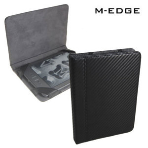 M-Edge Go! Jacket for Kindle / Paperwhite / Touch - Carbon Fibre Black