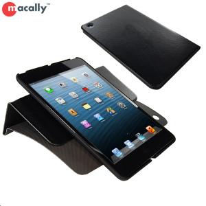 Macally iPad Mini 2 / iPad Mini Rotating Folio Case with Stand- Black