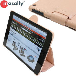 Macally iPad Mini 2 / iPad Mini Slim Case and Stand - Pink