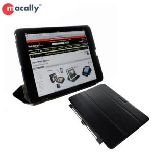 Macally iPad Mini 3 / 2 / 1 Reversible Hardshell Case - Black