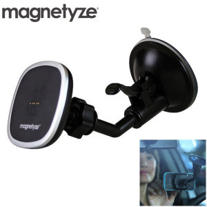 Magnetyze Magnetic Car Charger and Holder - Black