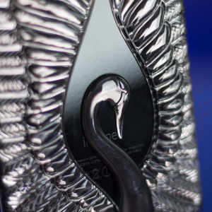 Magnificent Swan Clip-on iPhone 7 Plus Case - Black