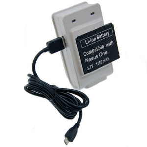 Mains Battery Charger - Google Nexus One