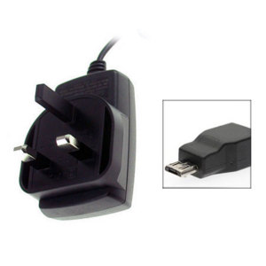 Mains Charger - BlackBerry Micro USB