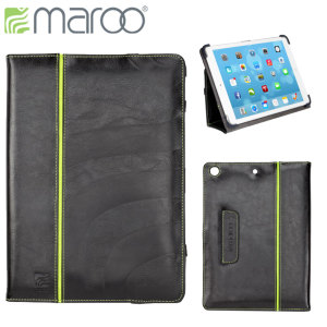 Maroo Kope Leather Folio Case for iPad Air - Black