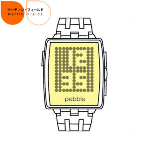 Martin Fields Pebble Steel Screen Protector