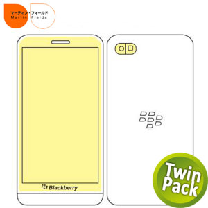 Martin Fields Twin Pack Screen Protector - Blackberry Z30