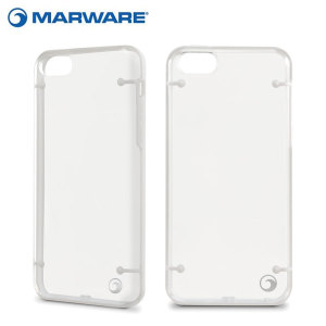 Marware DuoShell for iPhone 5C - Clear / White
