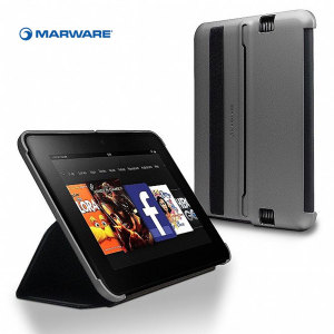 Marware MicroShell Folio for Kindle Fire HD 2012 - Silver