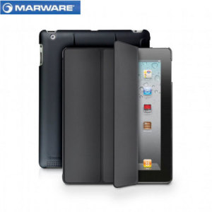 Marware MicroShell Folio iPad 4 / 3 / 2 Case - Black