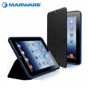 Marware Microshell Folio iPad Mini 3 / 2 / 1 Case - Blue/Black