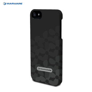 Marware MicroShell for iPhone 5S / 5 - Onyx Flower Bed