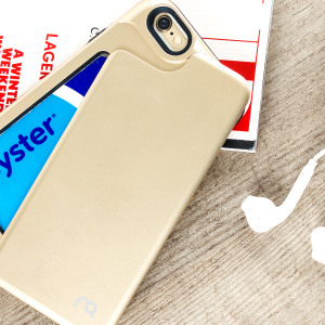 Matchnine iPhone 6S / 6 Match4 Swing Card Case - Champagne Gold