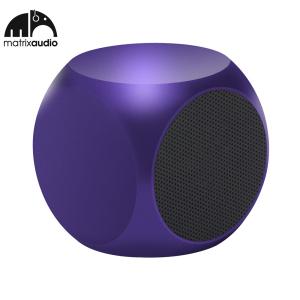 Matrix Audio Qube Universal Pocket Speaker - Purple