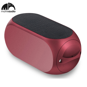 Matrix Audio Qube2 Universal Bluetooth Pocket Speaker - Red