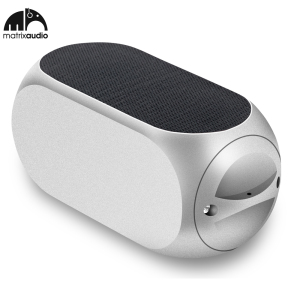 Matrix Audio Qube2 Universal Bluetooth Pocket Speaker - Silver