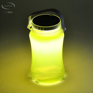 Mayhem Moon Shine Rechargeable Solar Micro USB Lantern Jar