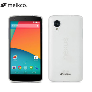 Melkco Poly Jacket Case for Google Nexus 5 - Transparent