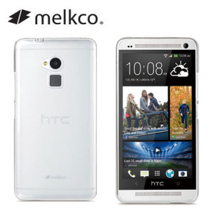 Melkco Poly Jacket Case for HTC One Max -  Transparent
