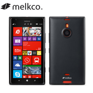Melkco Poly Jacket Case for Nokia Lumia 1520 - Black Matte