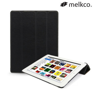 Melkco Slimme Premium Leather Case for iPad Mini 2 / iPad Mini - Black