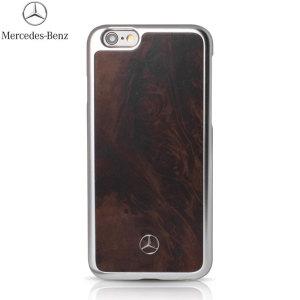 Mercedes-Benz iPhone 6S Plus / 6 Plus Genuine Wood Hard Case
