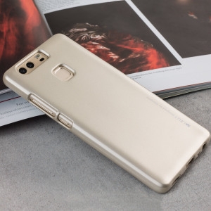 Mercury Goospery iJelly Huawei P9 Gel Case  - Gold