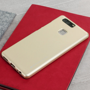 Mercury Goospery iJelly Huawei P9 Plus Gel Case - Gold
