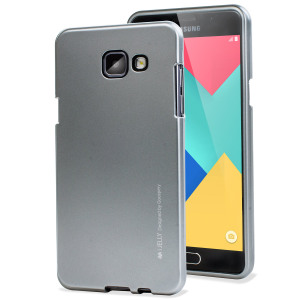 Mercury Goospery iJelly Samsung Galaxy A5 2016 Gel Case - Silver
