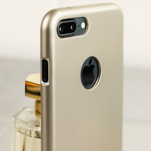 Mercury iJelly iPhone 7 Plus Gel Case - Gold