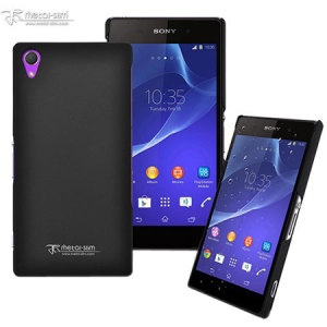 Metal-Slim Sony Xperia Z2 Rubber Case - Black