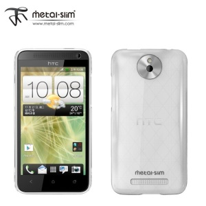 Metal-Slim Ultra Slim Hard Case for HTC Desire 501 - Clear