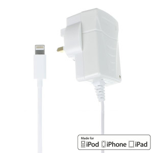 MFi 2.1A Lightning iPhone and iPad Mains Charger