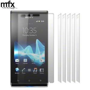 MFX 6-in-1 Sony Xperia J Screen Protectors