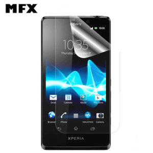 MFX Anti Glare Screen Protector for Sony Xperia T