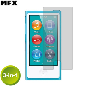 MFX Screen Protector  3-in-1 Pack - iPod Nano 7G